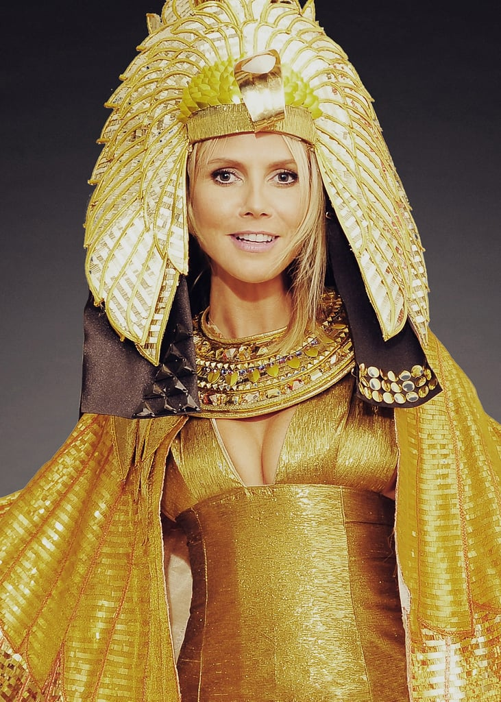 Playing Cleopatra in 2012 was more glam than gore.