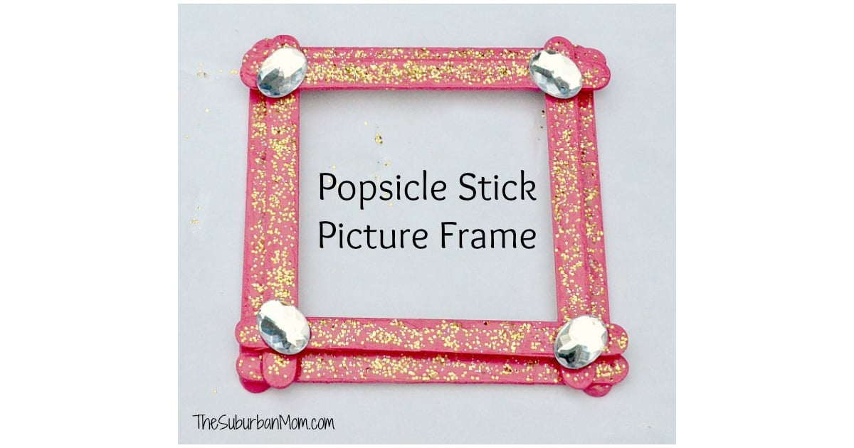 Popsicle stick picture frame popsicle stick crafts that for Popsicle picture frame crafts
