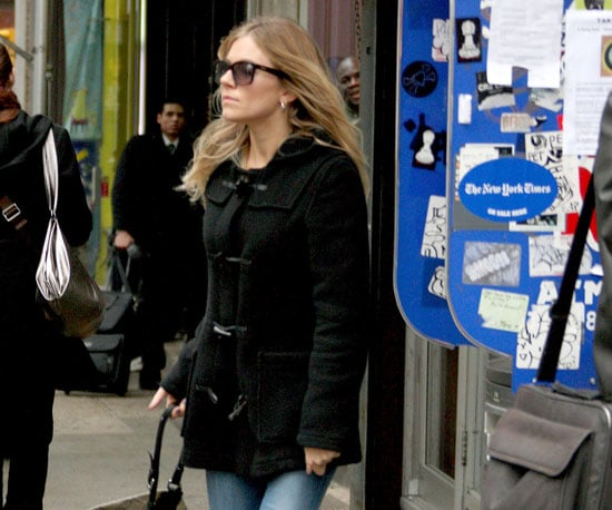 Slide Photo of Sienna Miller Out in NYC