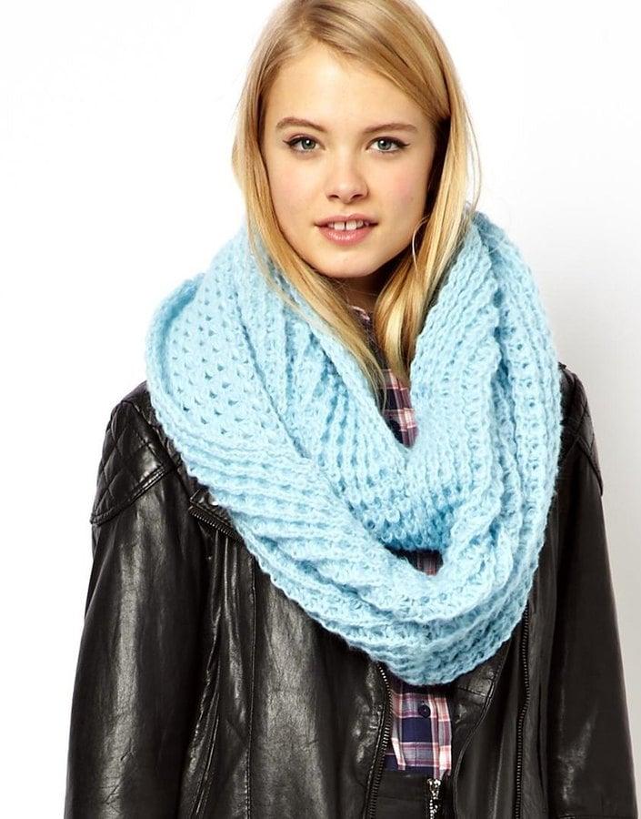 ASOS Pastel Rib Knit Snood ($15, originally $23)