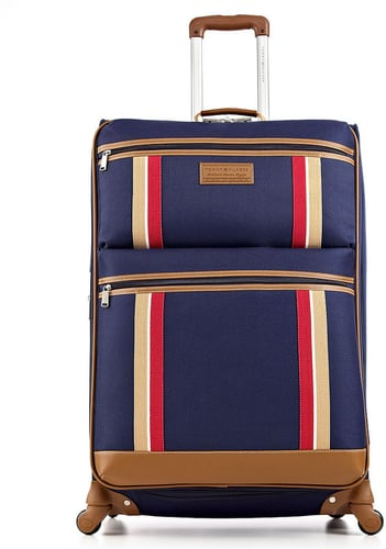 """Tommy Hilfiger Luggage Tommy Hilfiger Suitcase, 21"""" Scout Rolling Carry On Spinner Upright"""