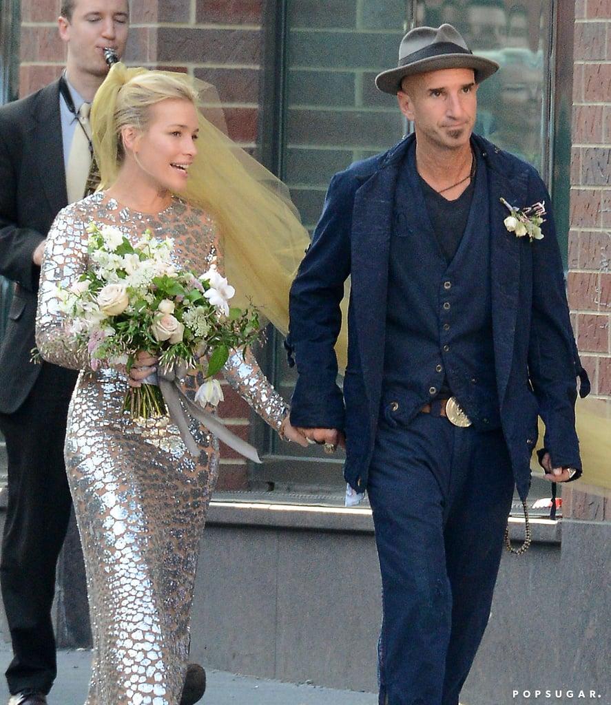 Piper Perabo's Wedding Dress