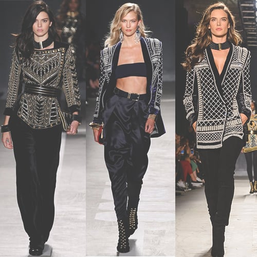 How to Wear an Embellished Jacket
