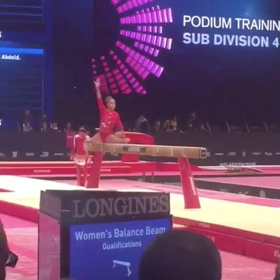 Marisa Dick Invents New Gymnastics Move