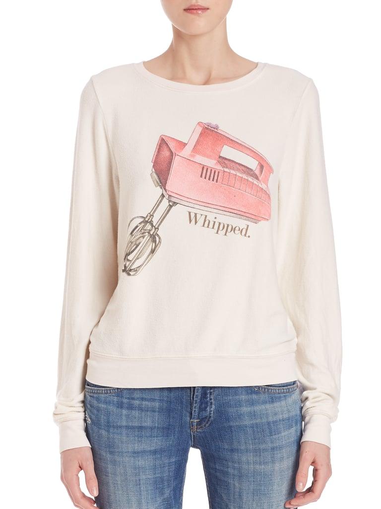 Wildfox Whipped Sweatshirt ($98)