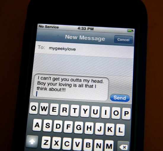 Text messages and relationships