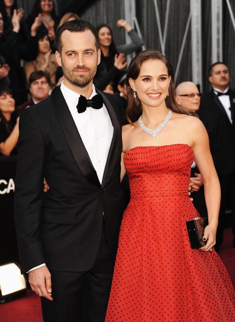 Natalie Portman and Benjamin Millepied