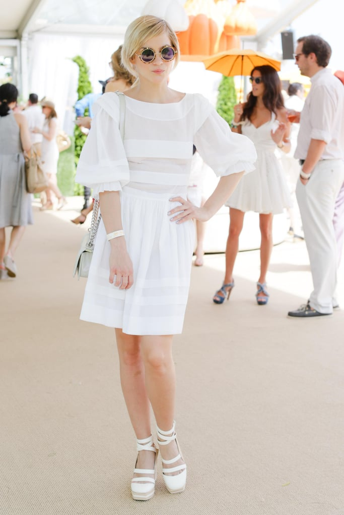 Leigh Lezark at the sixth annual Veuve Clicquot Polo Classic in Jersey City, NJ.  Source: David X Prutting/BFAnyc.com