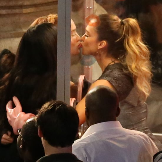 Jessica Alba's Celebrity Kissing Booth on Jimmy Kimmel Live