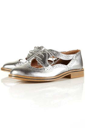 KRAFTY Cut Out Brogues - Brogues & Loafers - Flats - Shoes - Topshop USA