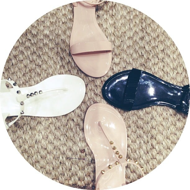 These jelly flats (in Seed's Spring/Summer collection, out in October) have gone straight onto our must-have list. They are divine in real life, and a best-seller in Singapore!