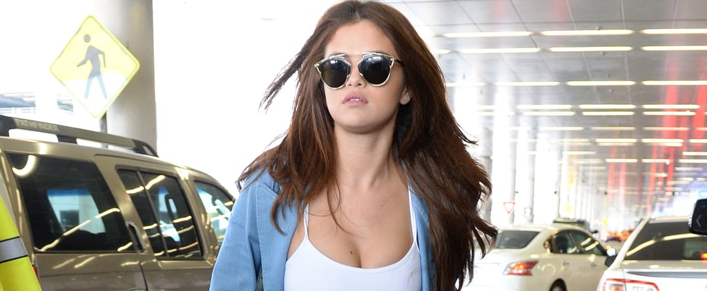 Selena Gomez's Washboard Abs Are Even Too Hot For Miami