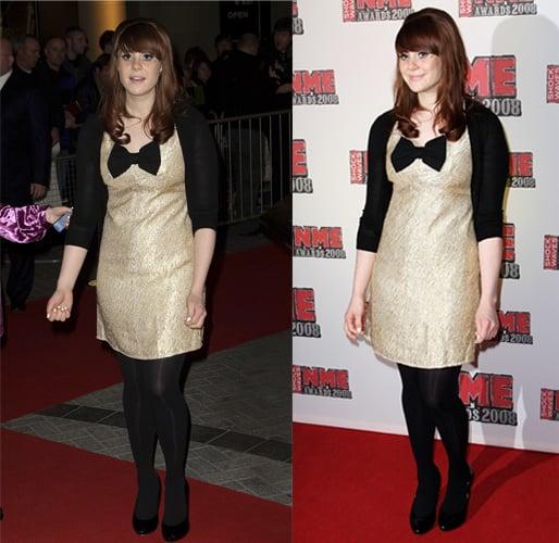 NME Awards 2008: Kate Nash