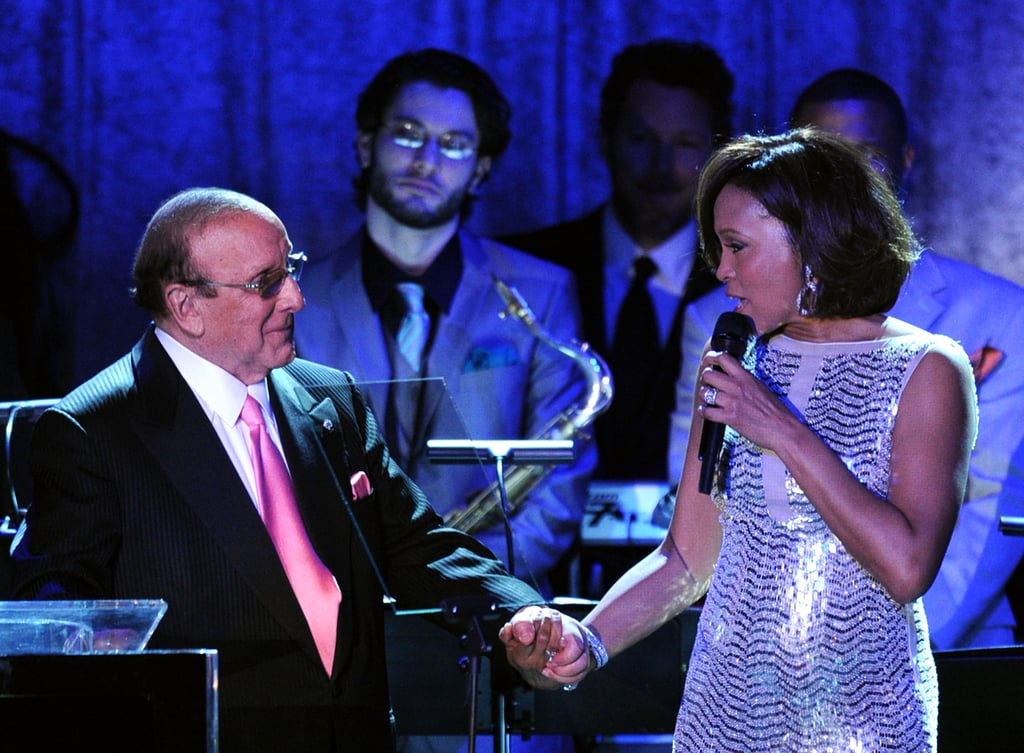 She and Clive shared the stage at his 2011 pre-Grammys party.