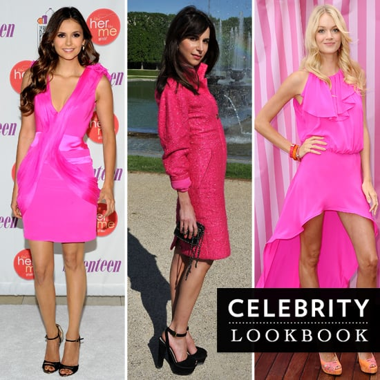 Celebrities Wearing Hot Pink