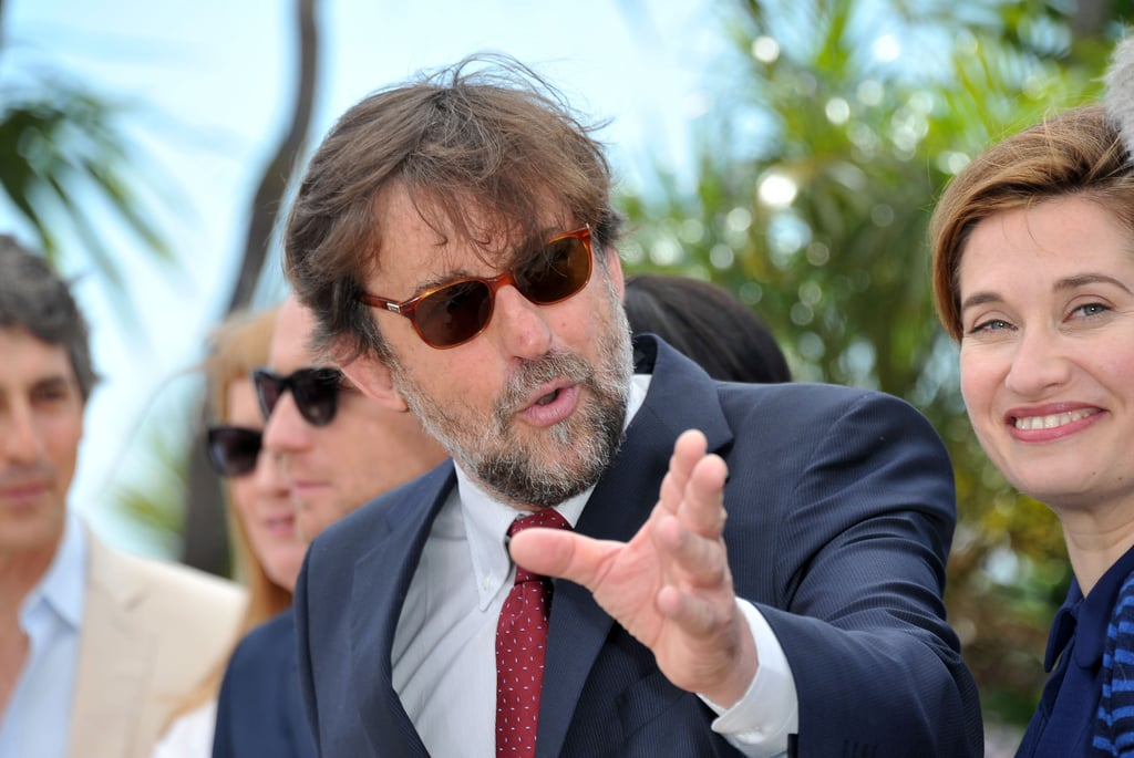 President of the jury, director Nanni Moretti was present for the jury photocall at the Cannes Film Festival.