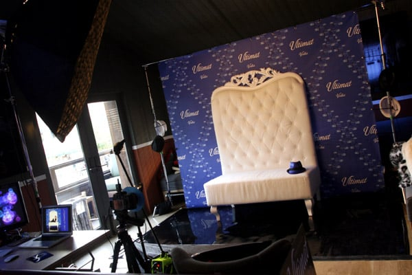 After dinner, guests were invited to stay for a fun party complete with a fabulous photo booth!