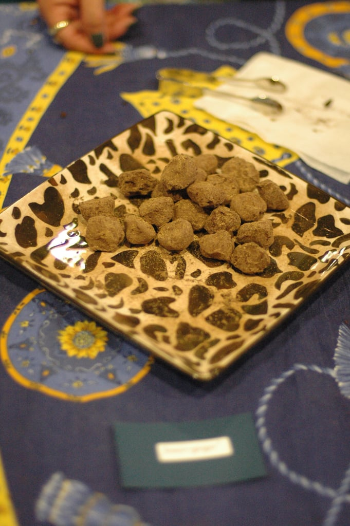 These lemon-ginger truffles from XOX Truffles in San Francisco had just the right amount of spice.