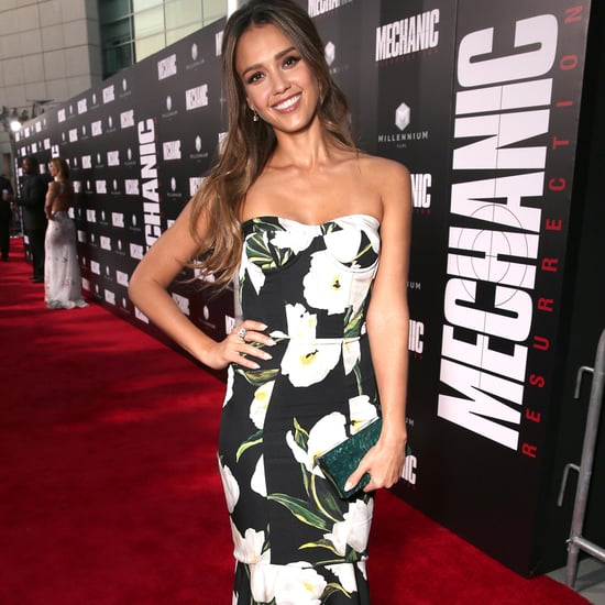 Jessica Alba at the Mechanic: Resurrection Premiere Pictures