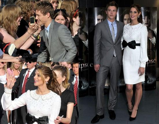 Pictures of Ashley Greene and Xavier Samuel in Belgium