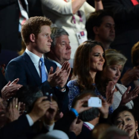 Kate Middleton and Prince Harry Attend Closing Ceremony