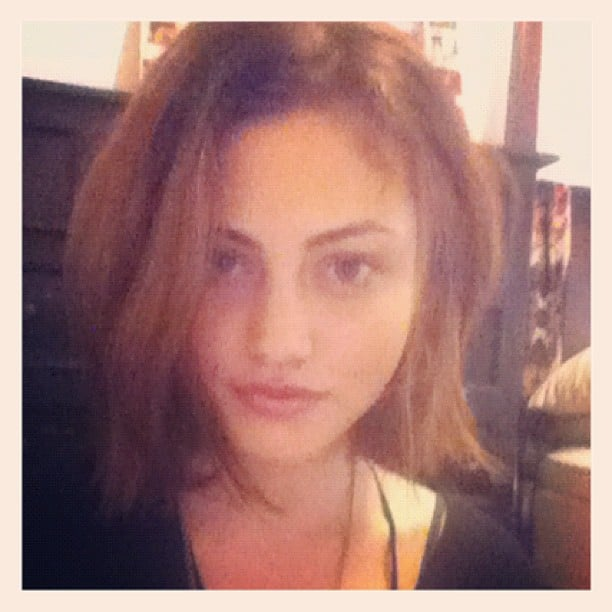 Phoebe Tonkin showed off a gorgeous new haircut. We love! Source: Instagram user phoebejtonkin