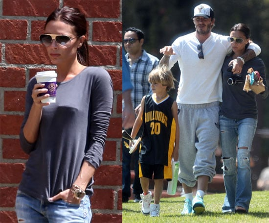 Pictures of The Beckhams