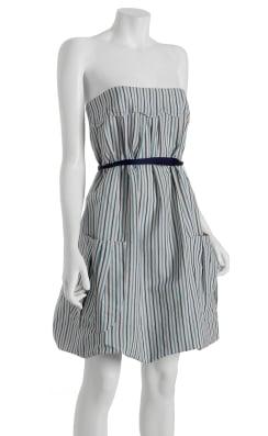 Vera Wang Striped Bubble Dress: Love It or Hate It?