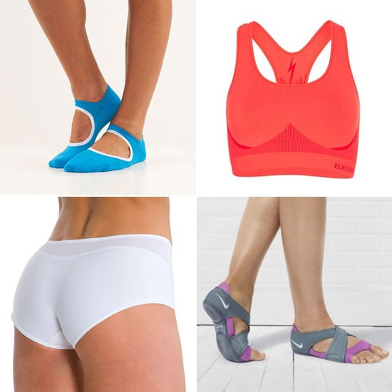Workout Underwear, Barre Socks, Sports Bras