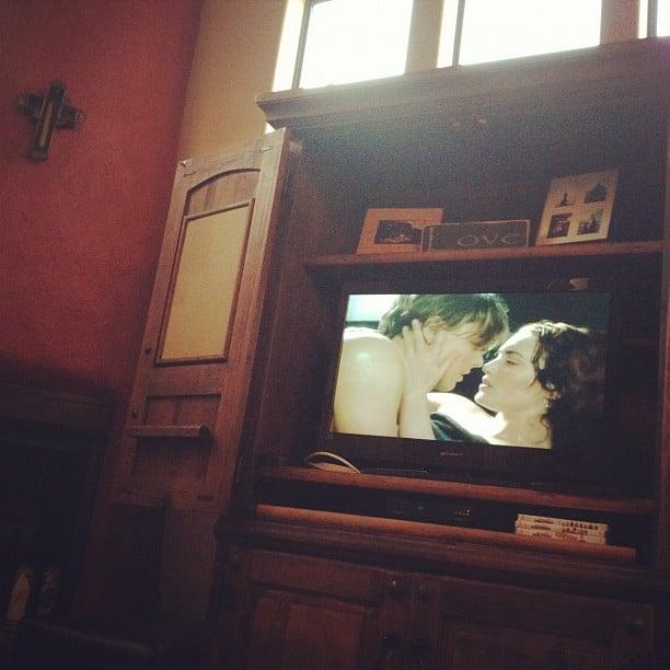 Watching Movies While Babysitting