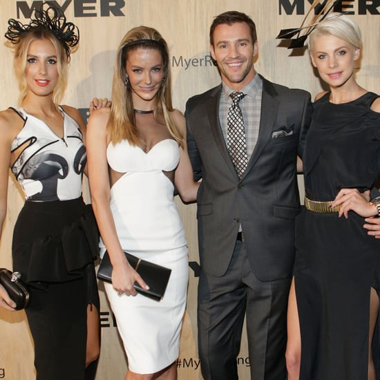 Jennifer Hawkins Laura Dundovic Randwick Races Derby Day