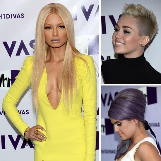 Pictures of DJ Havana Brown, Miley Cyrus at 2012 VH1 Divas