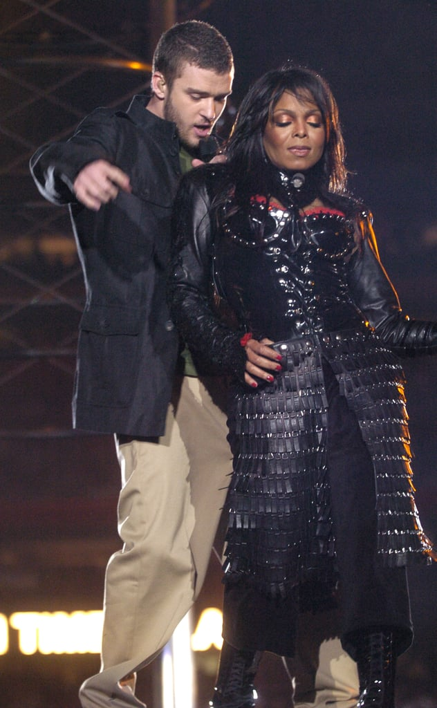 Justin performed with Janet Jackson in February 2004 during their now-infamous Super Bowl half-time show in Houston, TX.