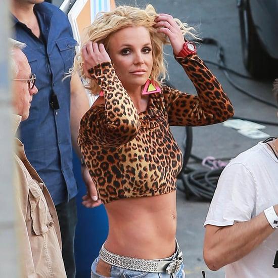 "Britney Spears and Iggy Azalea Film the ""Pretty Girls"" Video"