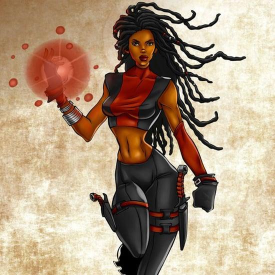 Multicultural Superheroes