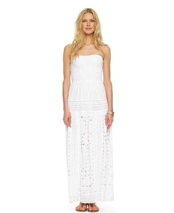 Michael Michael Kors Smocked Eyelet Maxi Dress ($175)
