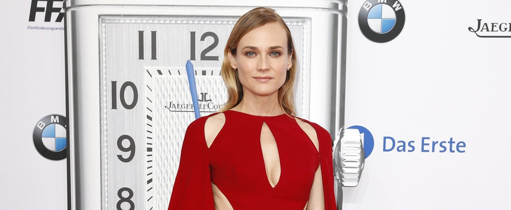 This Is the Moment We Realized Diane Kruger Is Actually a Red Carpet Superhero