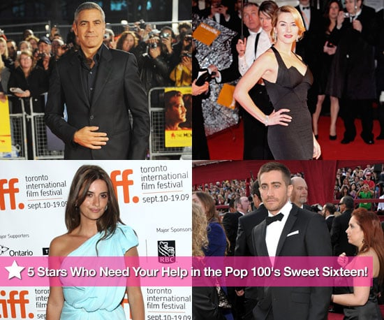 5 Stars Who Need Your Help in the PopSugar 100's Sweet Sixteen!