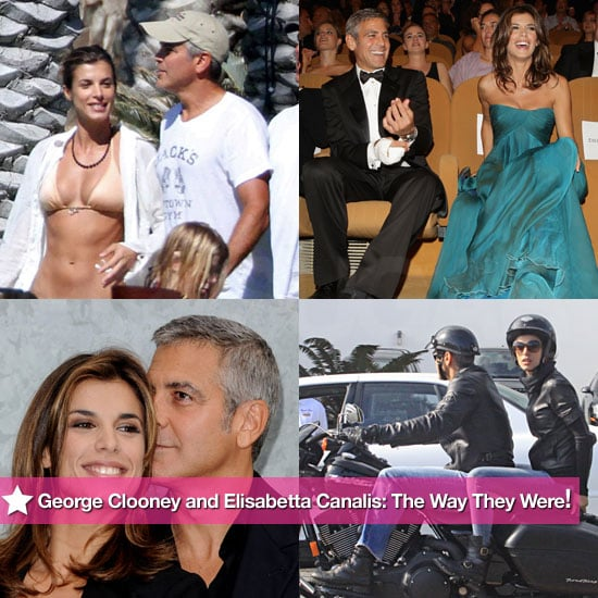 George Clooney and Elisabetta Canalis: The Way They Were!