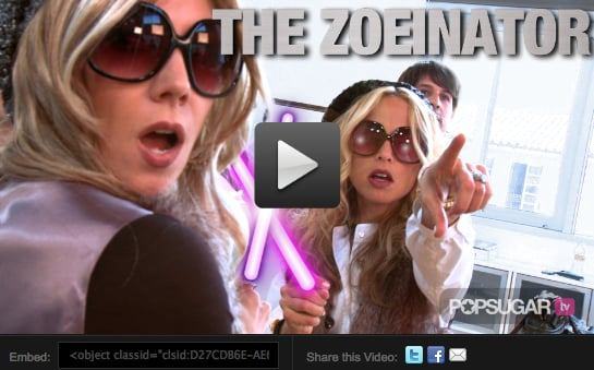 Rachel Zoe in The Zoeinator