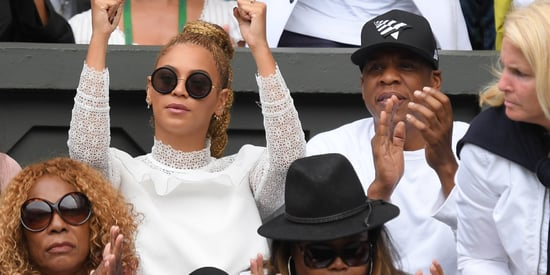 Beyoncé Game, Set, Slayed Wimbledon In White To Cheer On Serena Williams