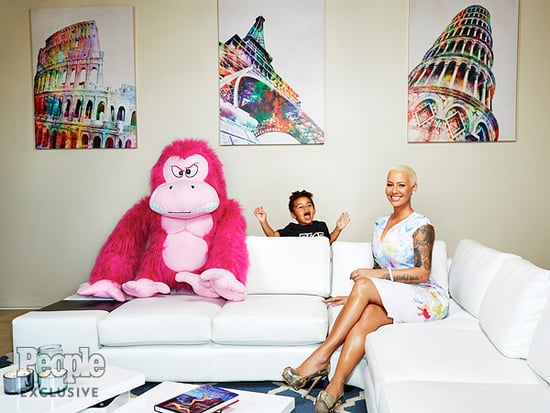 How Amber Rose Really Feels When People Criticize Her for Being a Sexy Mom: 'I Sleep Like a Baby at Night'