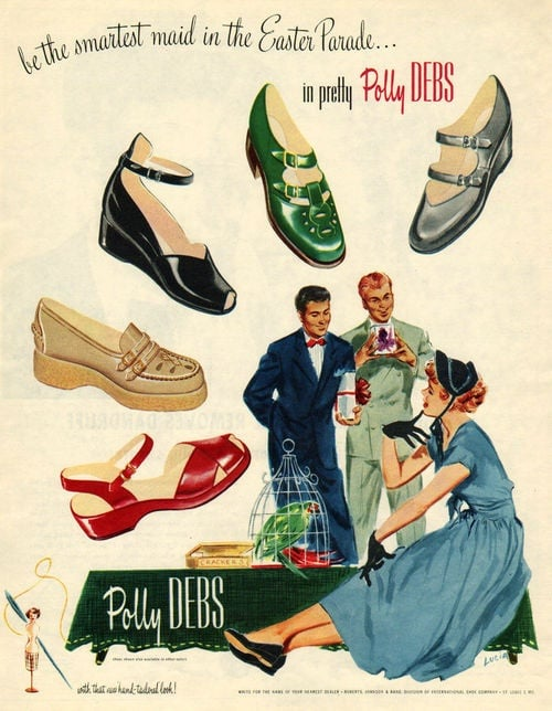 """So many shoes to choose from! Which pair says """"grandma"""" best?"""