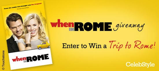 Enter the When in Rome Giveaway and Win a Trip to Rome!