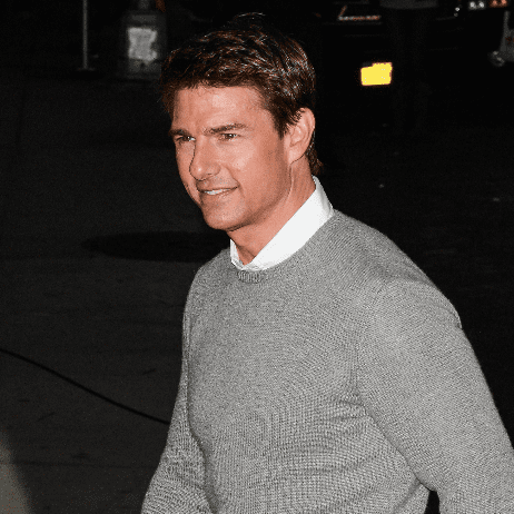 Tom Cruise at the Late Show For Jack Reacher | Pictures