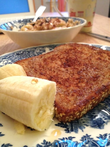 "Vegan Coco-nutty ""French Toast"""