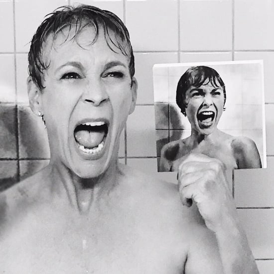 Jamie Lee Curtis Re-Creates Psycho For Scream Queens