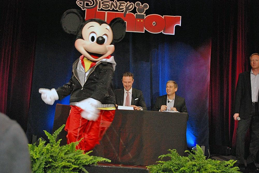 Break-Dancing Mickey Mouse