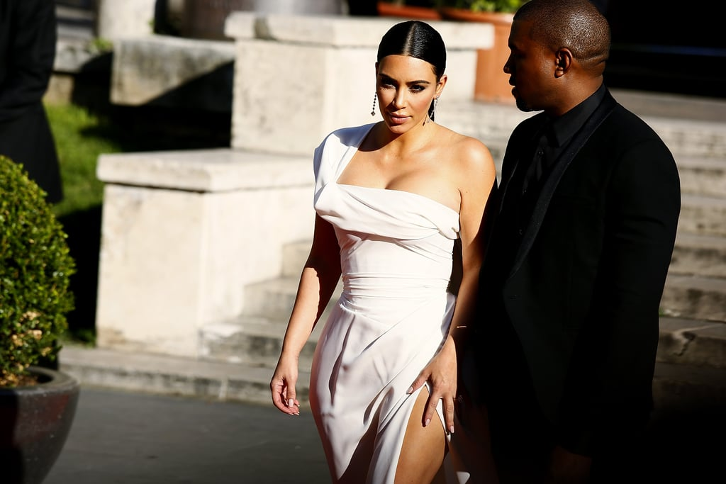 Kim and Kanye looked like royalty when they attended the La Traviata premiere in Rome in May 2016.