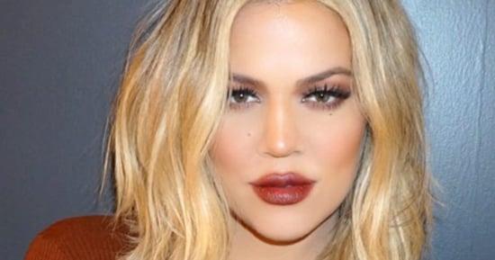 Khloe Kardashian Breaks Down Her '90s Beauty Look — Including Brown Lipstick